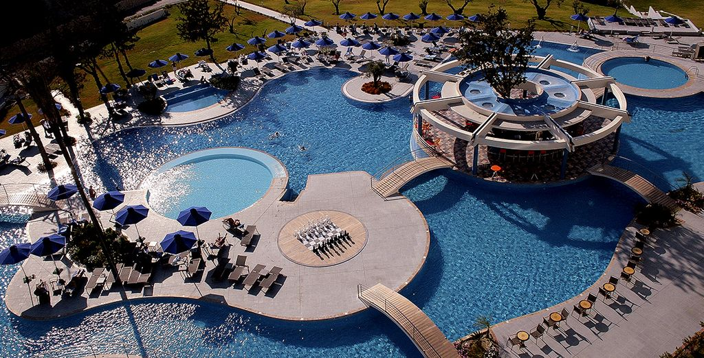 Boasts a luxury spa and great facilities