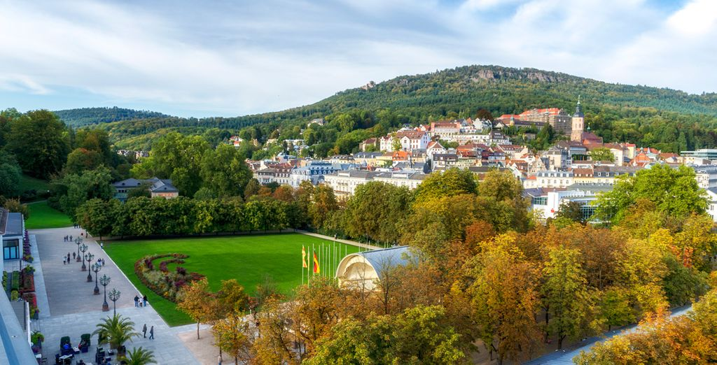 Nestled in the spa town of Baden-Baden, Germany