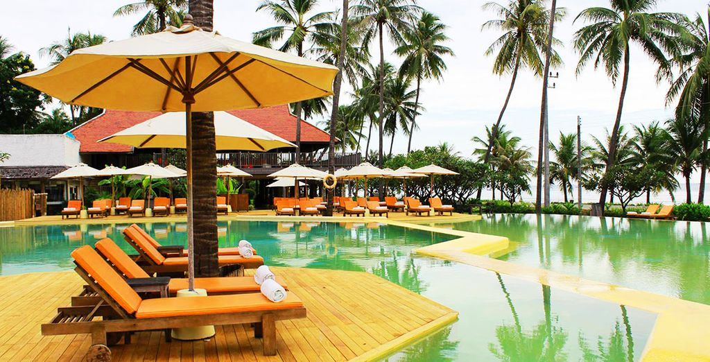 To this peaceful Thai hideaway - Evason Hua Hin 5* Hua Hin