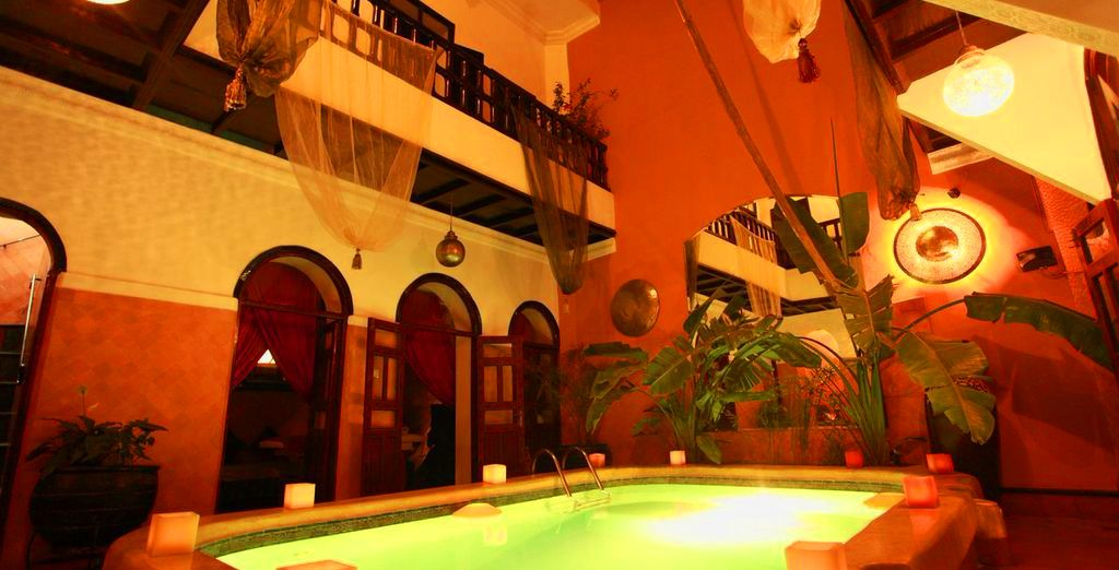 After a day exploring take some time to yourself in the Riad