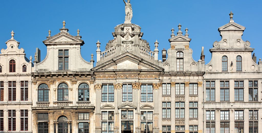 Take in Brussels' famous architecture