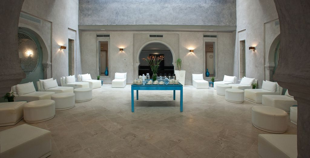 Grand Tunisian design is well-represented in this magnificent property