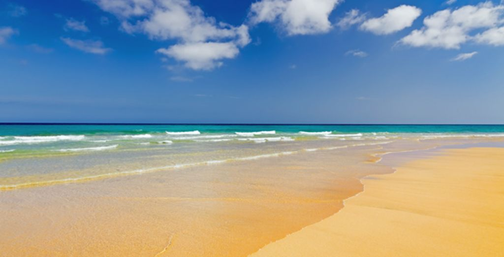 On the sunny island of Fuerteventura - Villas Mirador De Lobos 4* Fuerteventura