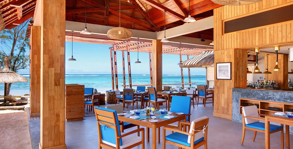 And the all inclusive dining is deliciously fresh & tempting