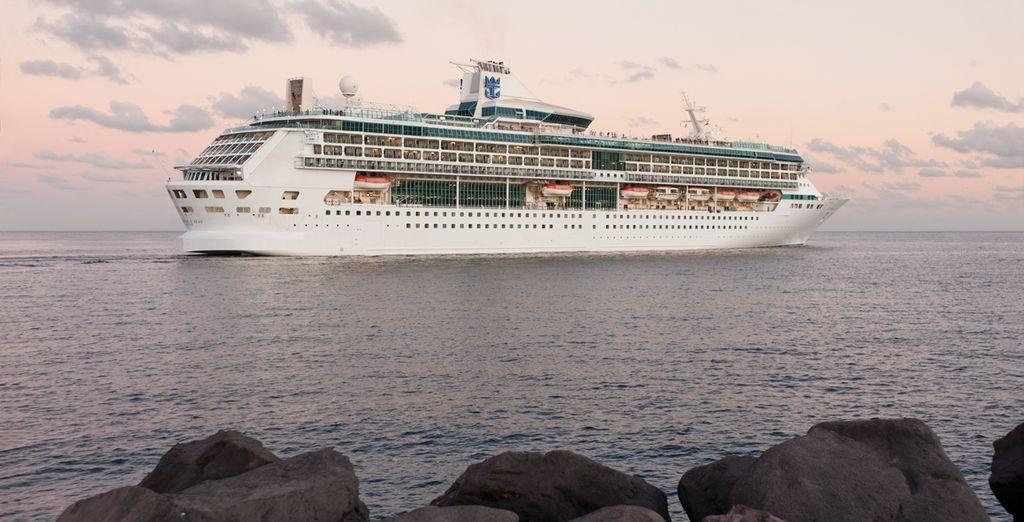 Splendour of the Seas awaits you