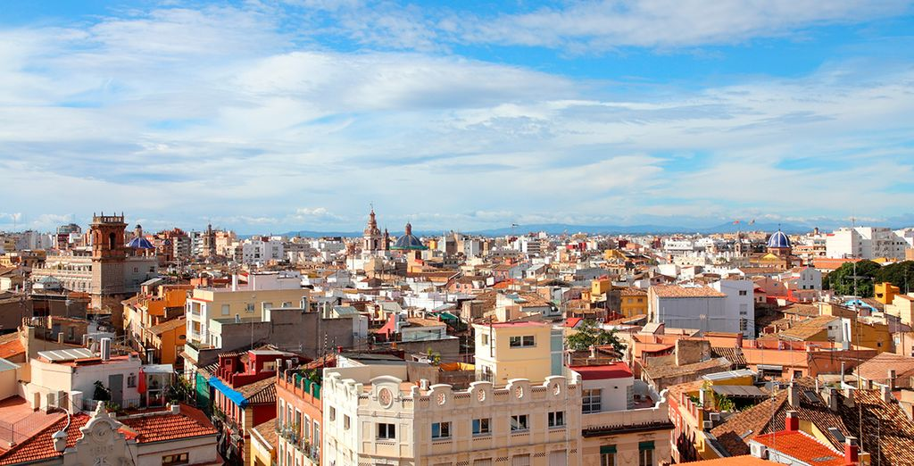 From which you can explore the rich culture of Valencia
