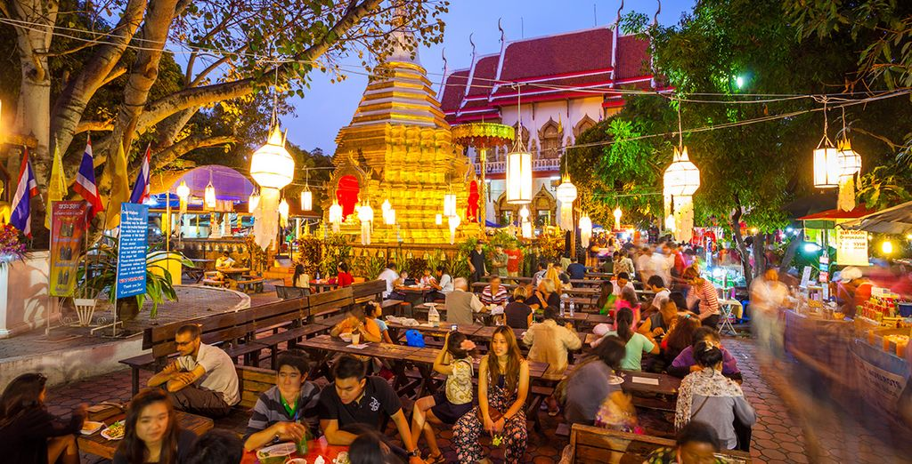 Don't miss the famous night market too