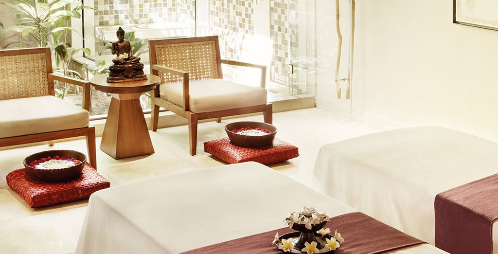 The Nira Spa is a haven of relaxation