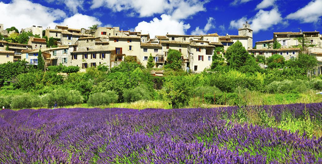 In the stunning town of Saint-Rémy-de-Provence