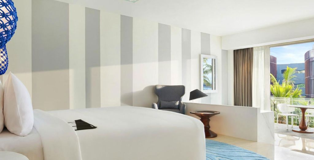 Where you'll enjoy a stay in a Lagoon View Room