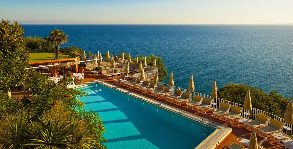 Enjoy panoramic views from Le Querce Thermae & Spa - Le Querce Thermae & Spa 4* Ischia