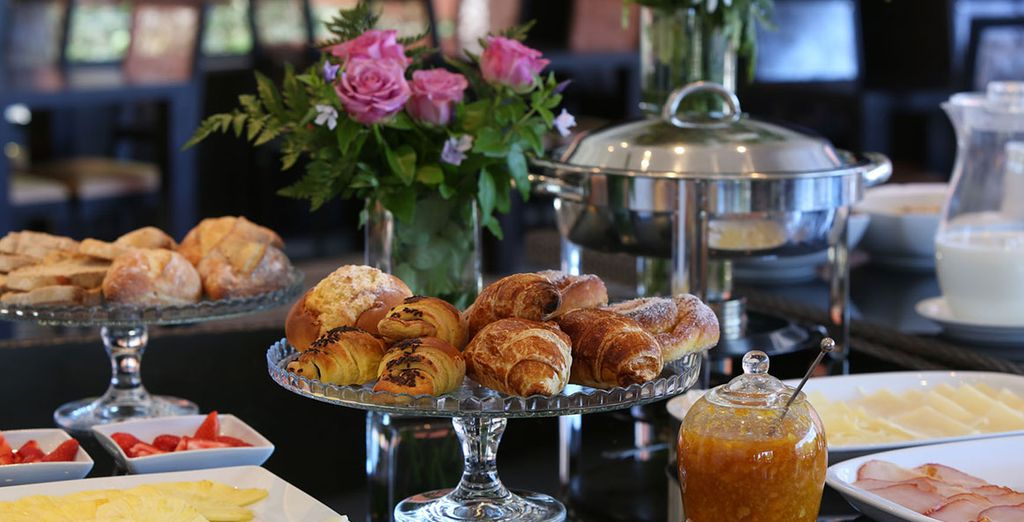 Our offer includes a delicious daily breakfast