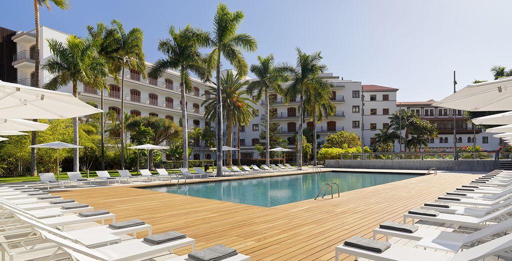 Escape to this glamorous Iberostar - Iberostar Grand Hotel Mencey 5* Santa Cruz de Tenerife