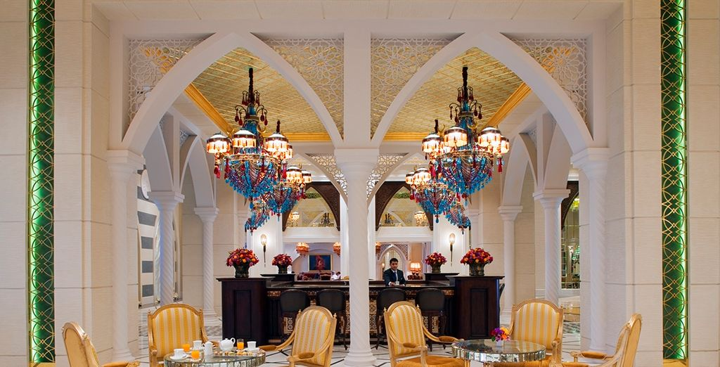Our offer includes half board dining in over 50 restaurants around Dubai