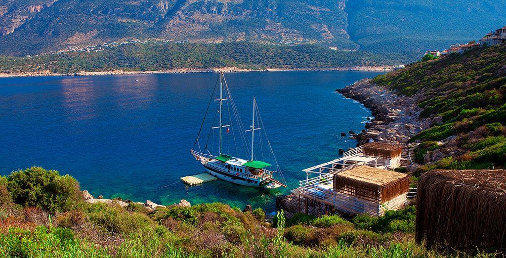 To explore this beautiful coastline