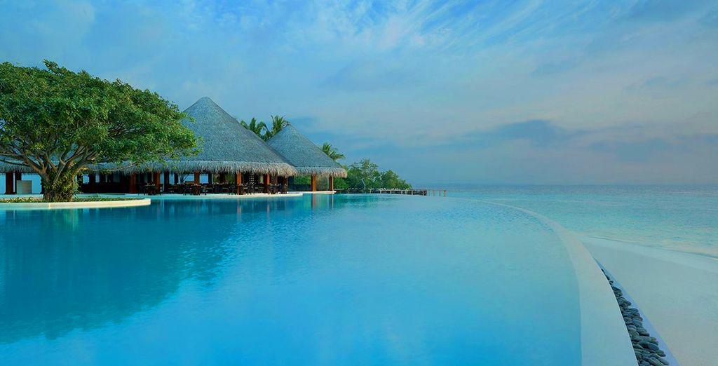 And experience true serenity and relaxation - Dusit Thani 5* Maldives