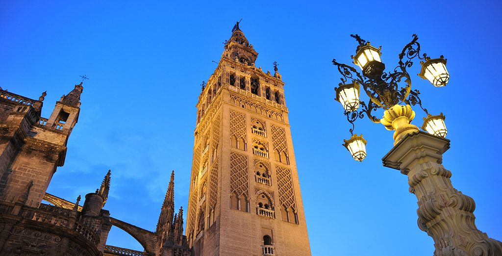 And the UNESCO-listed Giralda