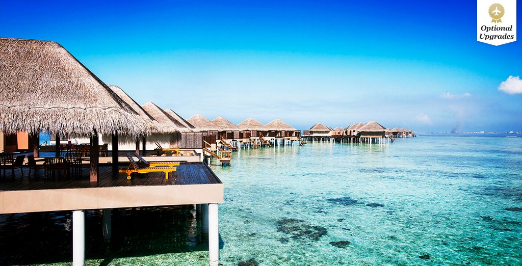 Wake up each morning to the stunning sights of the Indian Ocean at your feet... - Adaaran Prestige Vadoo 5* Maldives