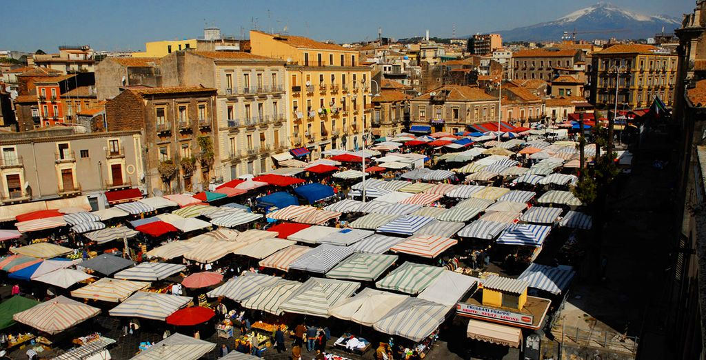 Don't miss the city's legendary markets - the fish is particularly special