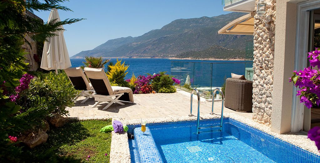Spectacular views and luxury... - Peninsula Gardens Hotel Kas