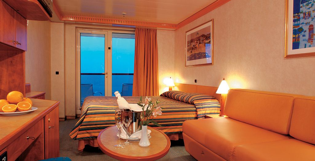 Or a Balcony Stateroom