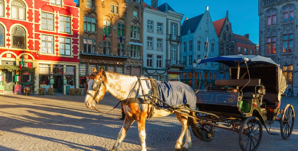 Tour this alluring city in style