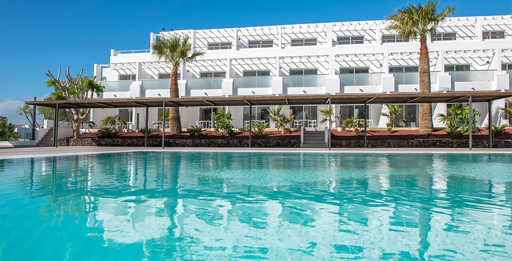 On this Canary Island of sunshine at Sentido Aequora Suites