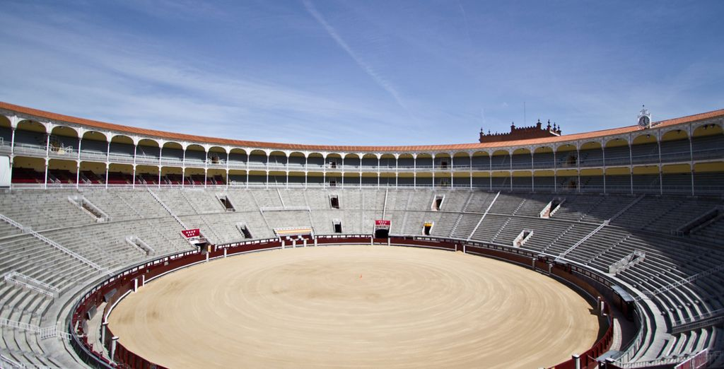 Just 300 metres from Madrid's famous bullring