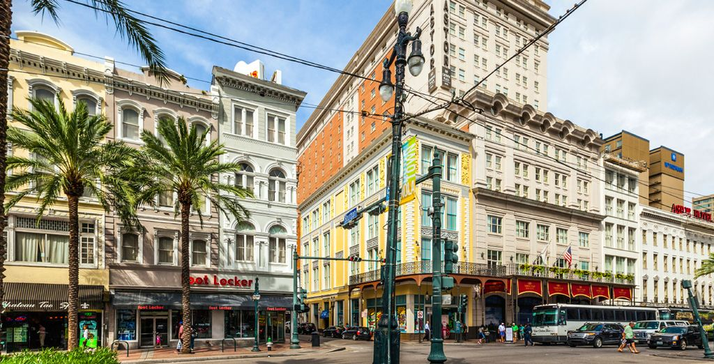 Next, stay in the vibrant city of New Orleans