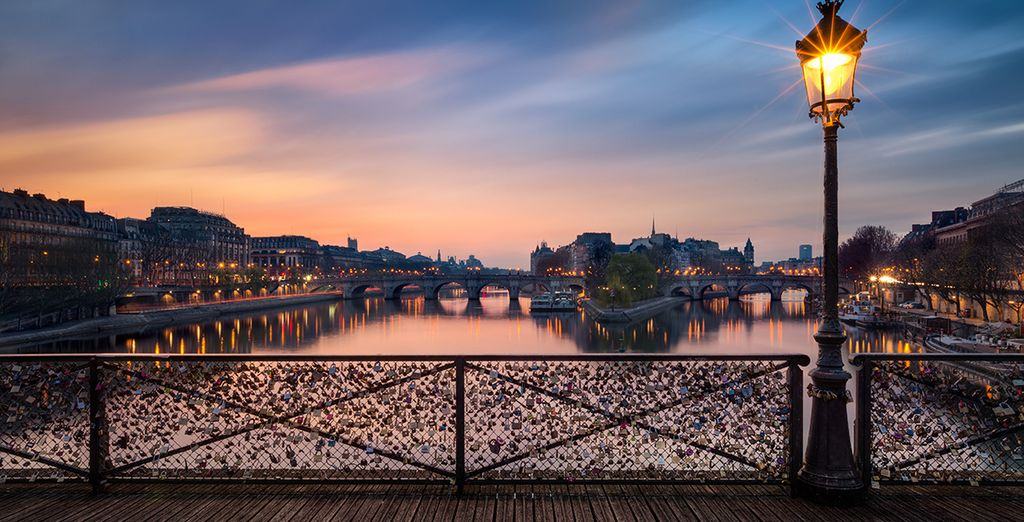 Discover the romance of Paris