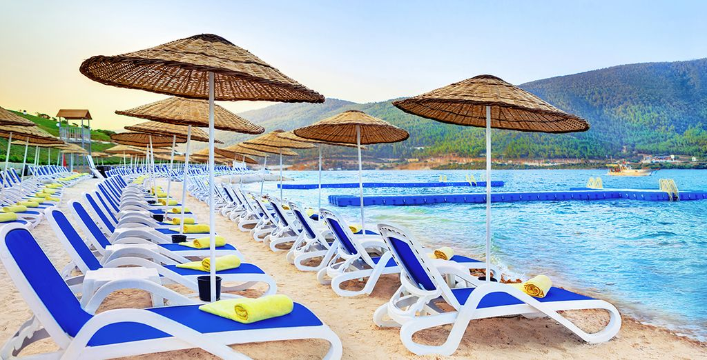 Or perhaps you prefer to chill out on the beach?