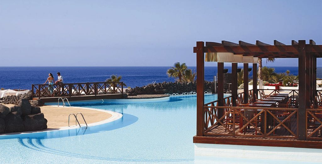 Located in Puerto del Carmen, one of the most prestigious areas of Lanzarote - Hesperia Lanzarote 5* Lanzarote