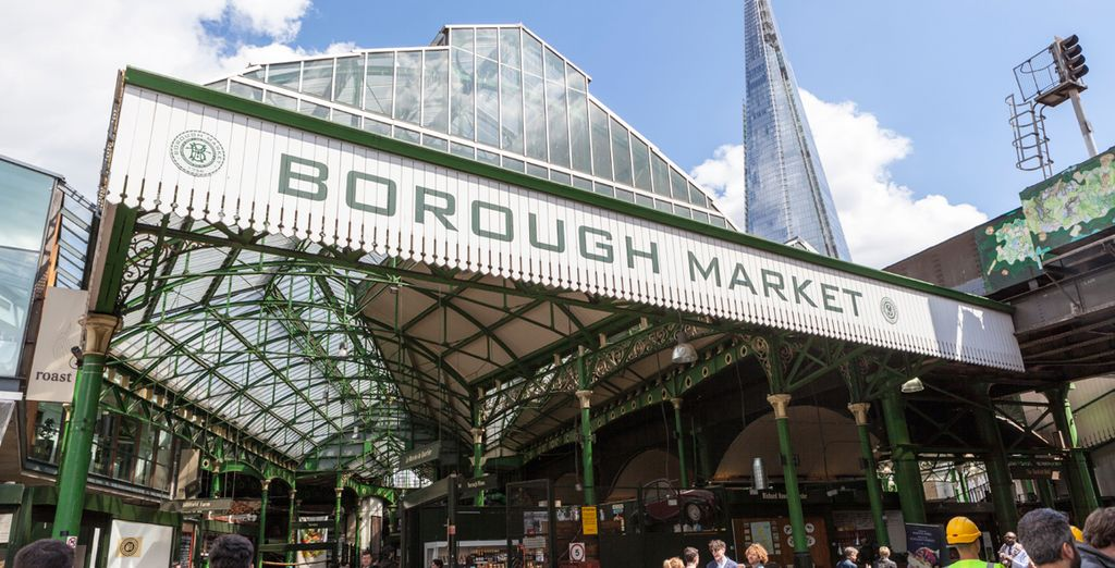 Borough Market is under a 20 min walk away - offering delicious, fresh produce