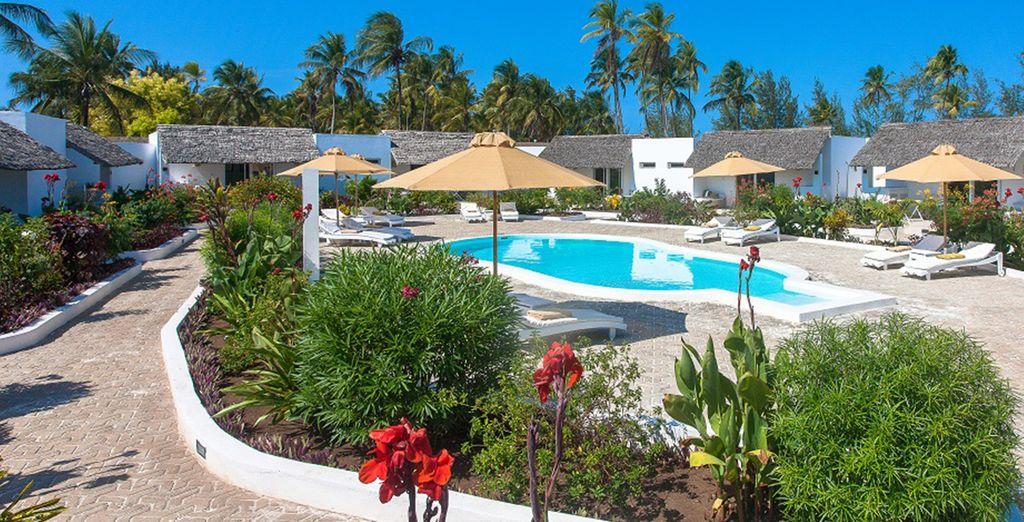 A small, quiet resort