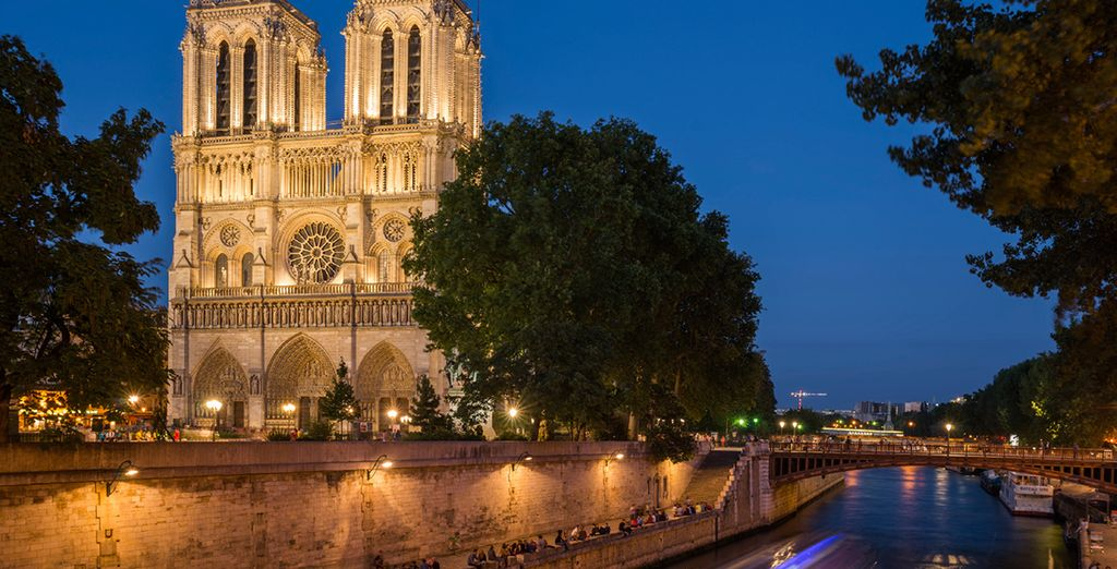 Climb to the top of the iconic Notre Dame de Paris for an unforgettable view