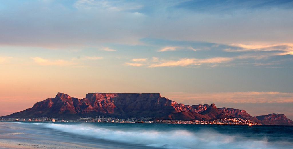 Discover beautiful South Africa's scenery...
