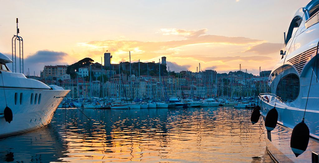 Return to Cannes for fine dining and chic bars