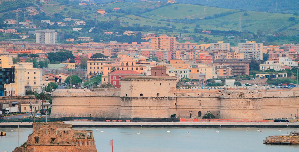 Civitavecchia, brimming with excellent fish restaurants