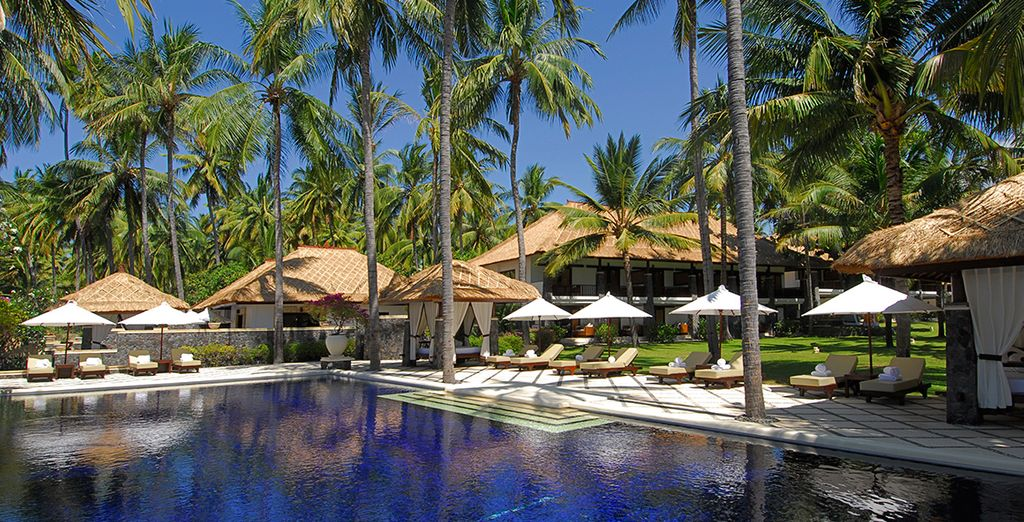 Visit this paradise location - Spa Village Resort Tembok, Bali 5* Bali