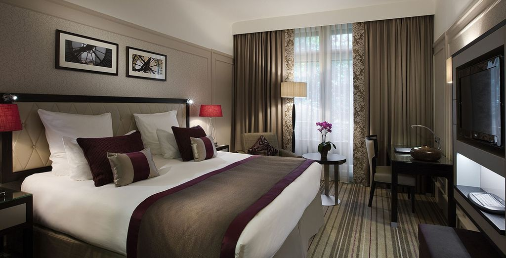 Our members will be treated to a room upgrade