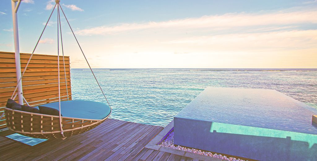 Or upgrade to the Signature Pool Water Villa