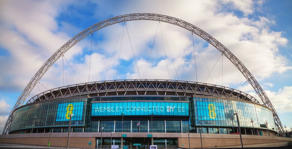You're within walking distance of Wembly Stadium