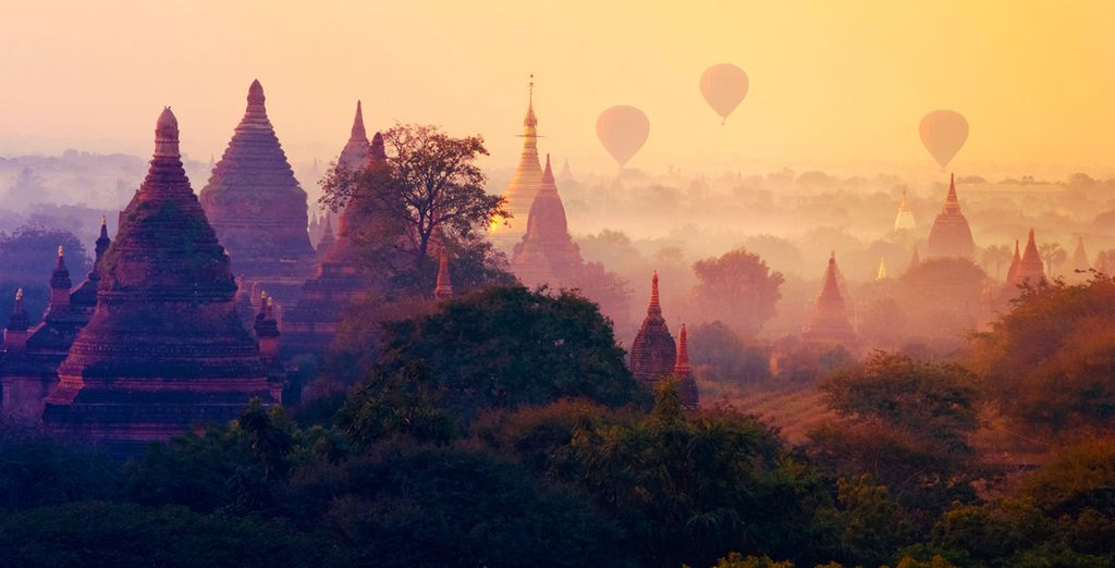 Travel to to the mystical country of Myanmar
