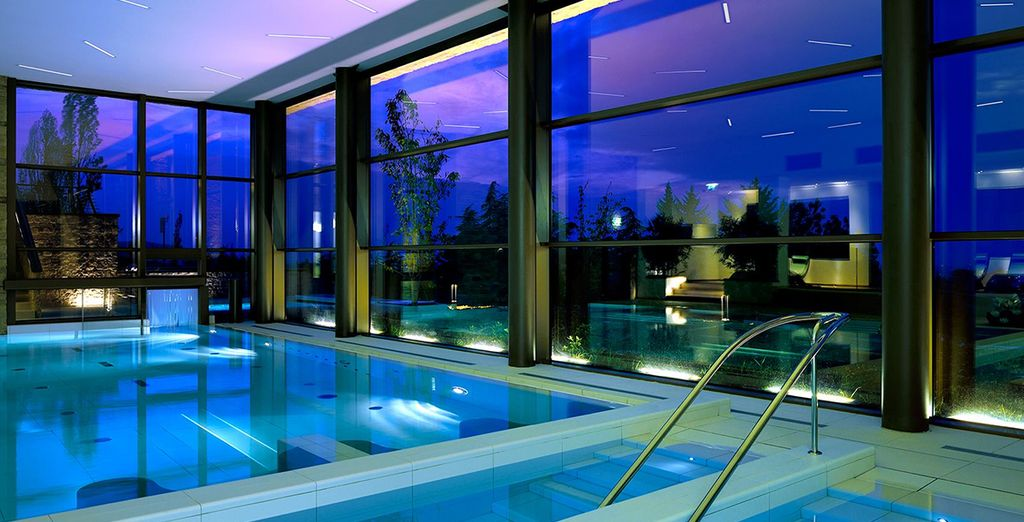 And the serenity of the indoor pool
