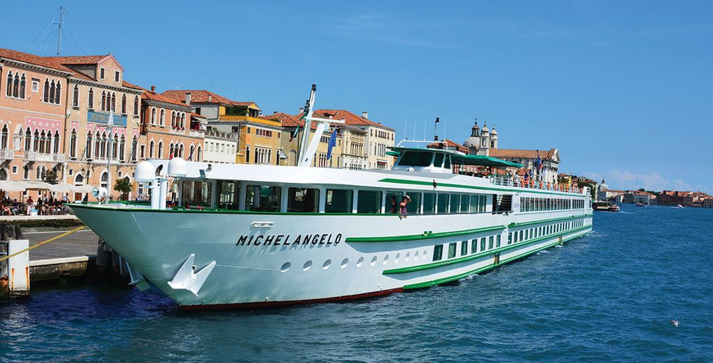 See the sights of Venice from a unique viewpoint....