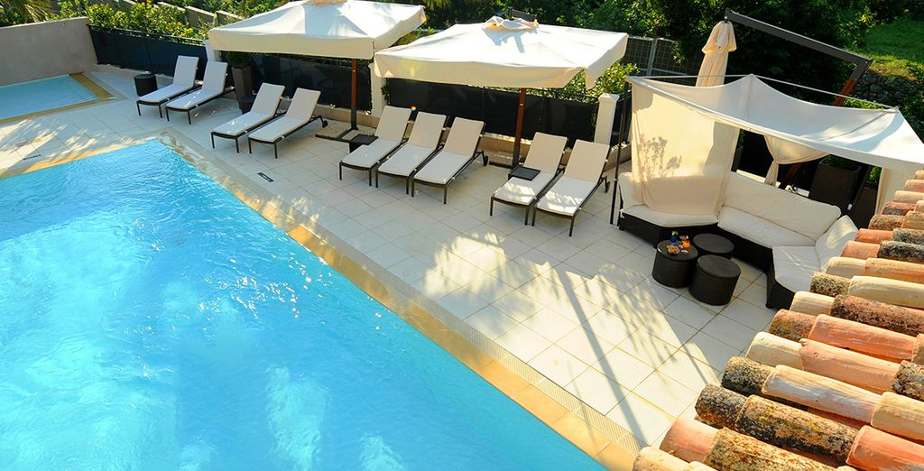 Or enjoy a splash about in the pool
