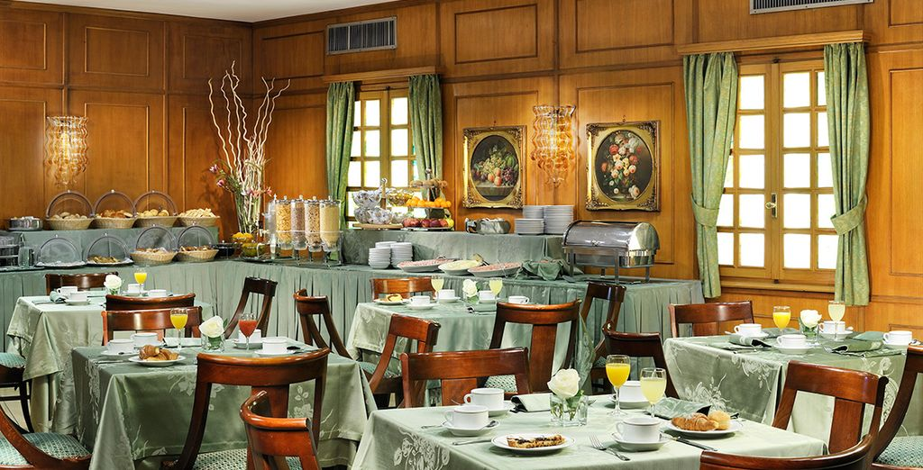 And dine amongst classical style