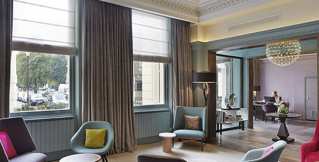 A chic base for your stay in the capital