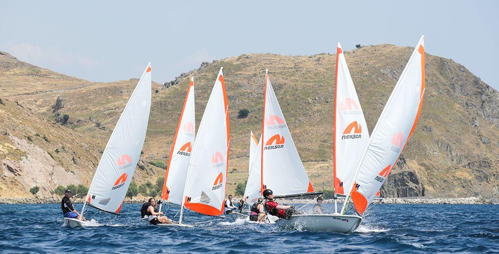 Fancy windsurfing on the beautiful Aegean Sea?
