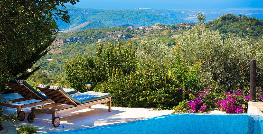 Soak up the sun in your stunning Kalkan villa (Uzum)